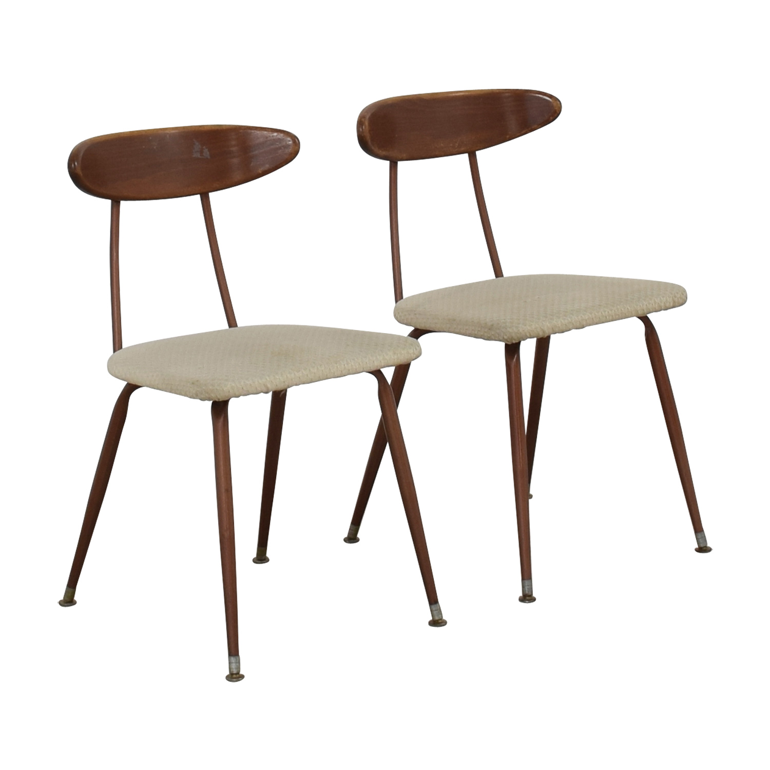 shop Retro Copper Chairs  Accent Chairs