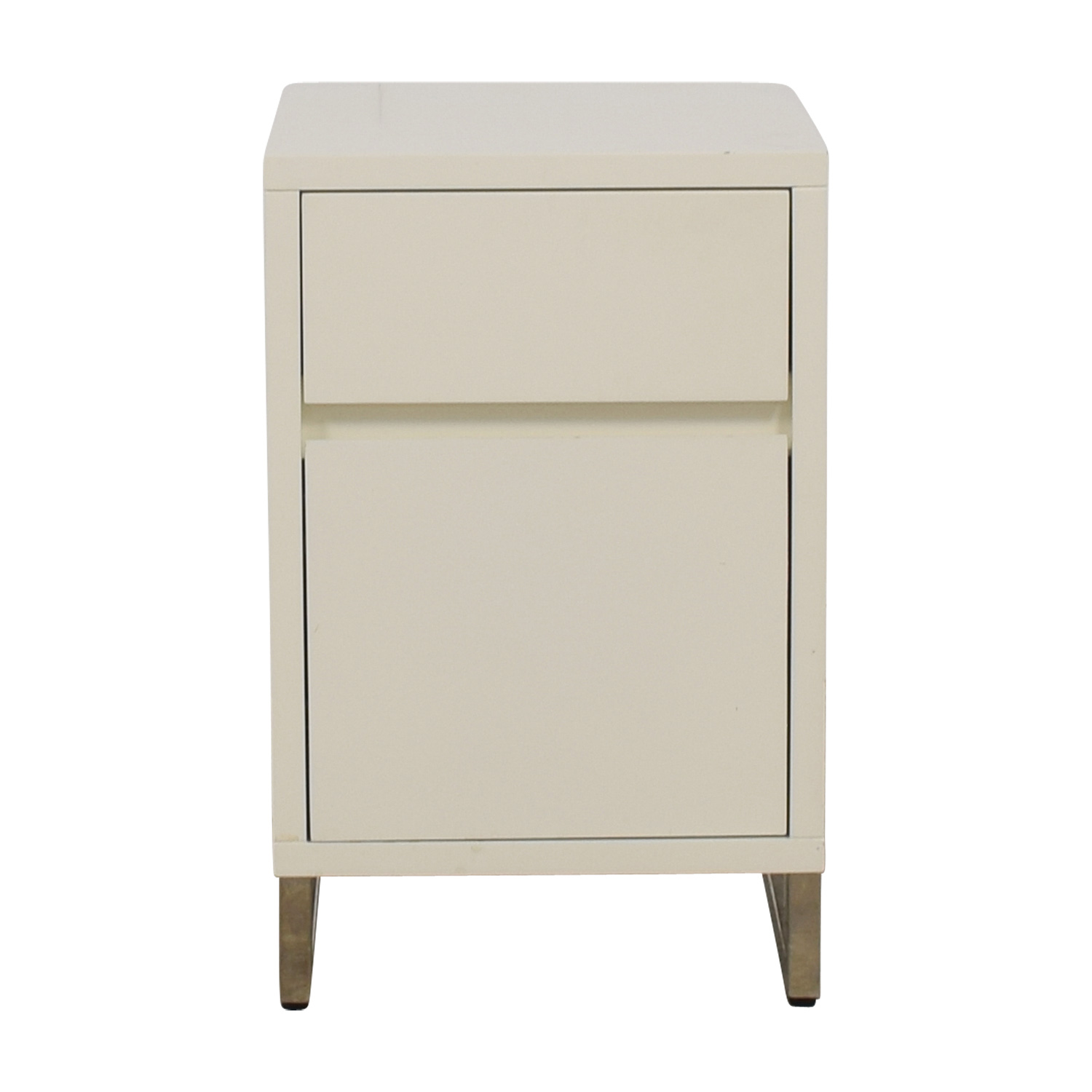 West Elm Single Drawer Nightstand with Storage / End Tables