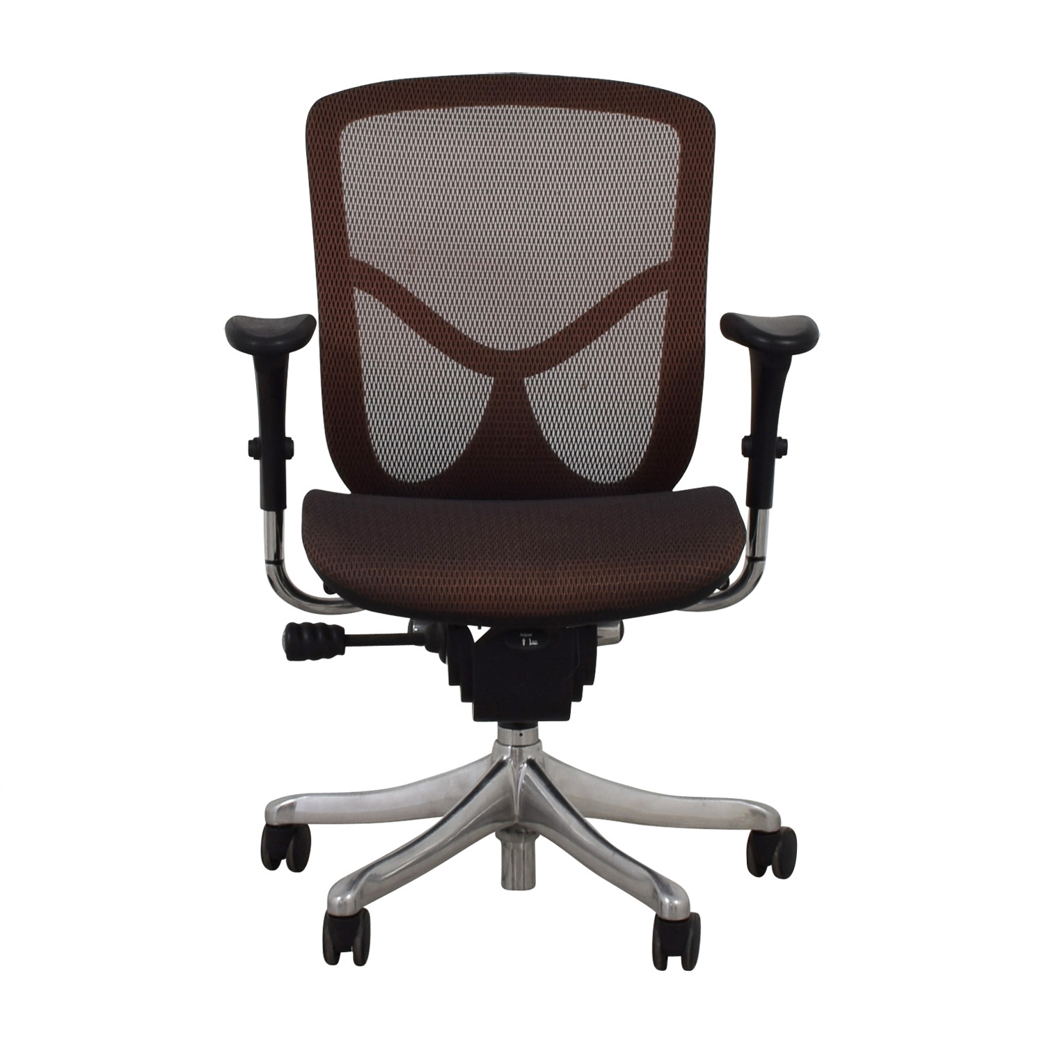 Burgundy Office Chair discount