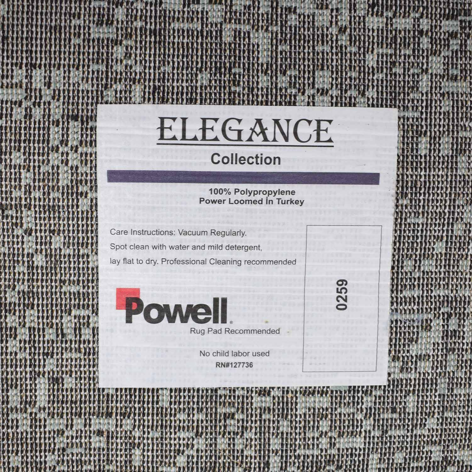Powell Powell Elegance Multi-Colored Rug on sale
