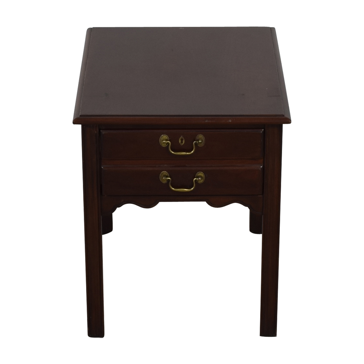 shop Drexel Wood Single Drawer End Table Drexel End Tables