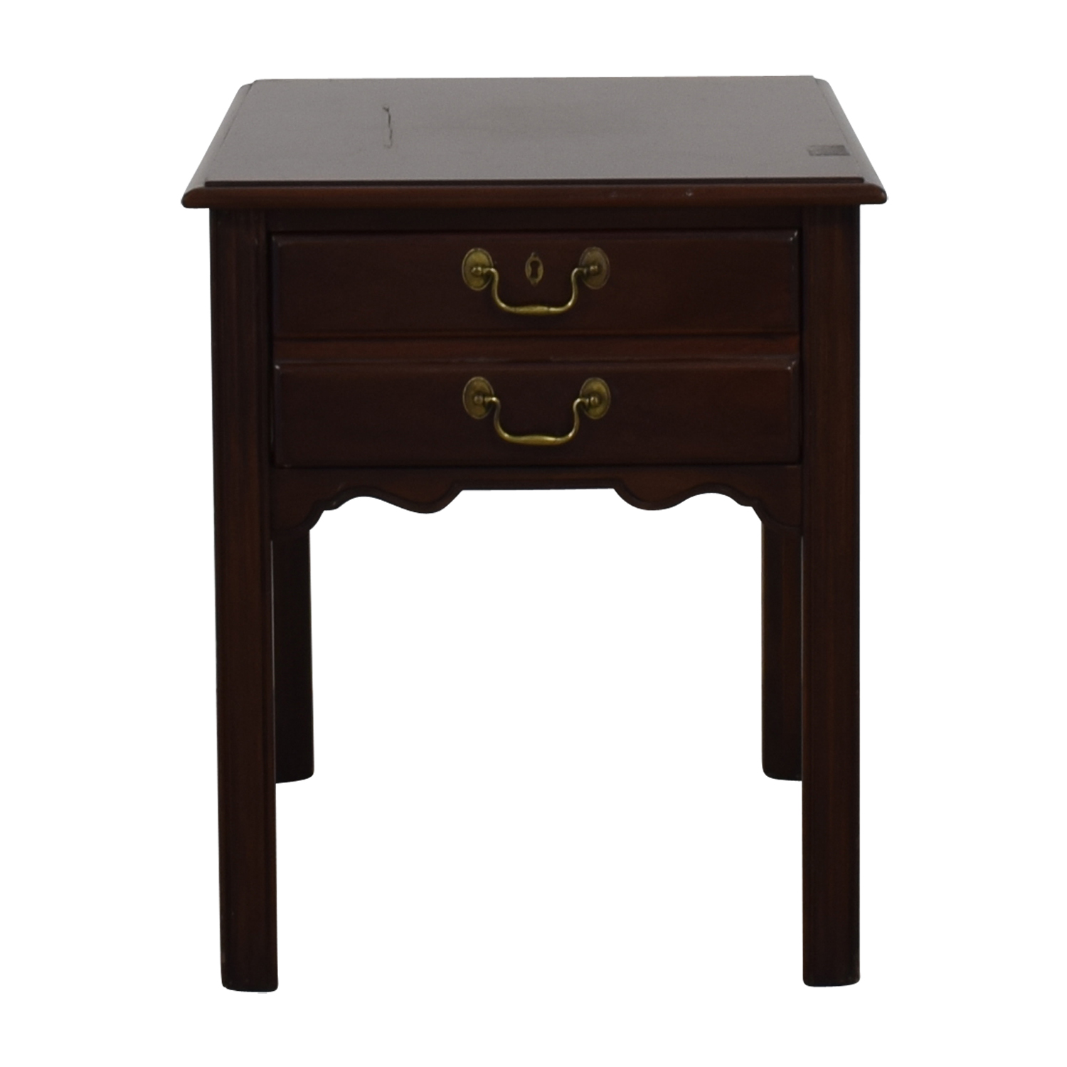Drexel Drexel Wood Single Drawer End Table dimensions
