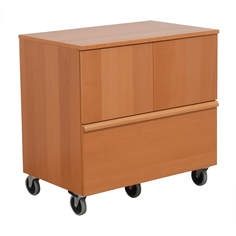90 Off Ikea Ikea File Cabinet With Storage Storage