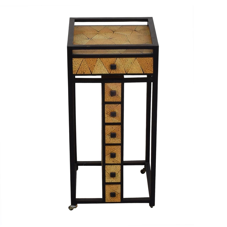 buy R & Y Agousti Hancrafted Artisnal Cabinet on Castors R & Y Agousti