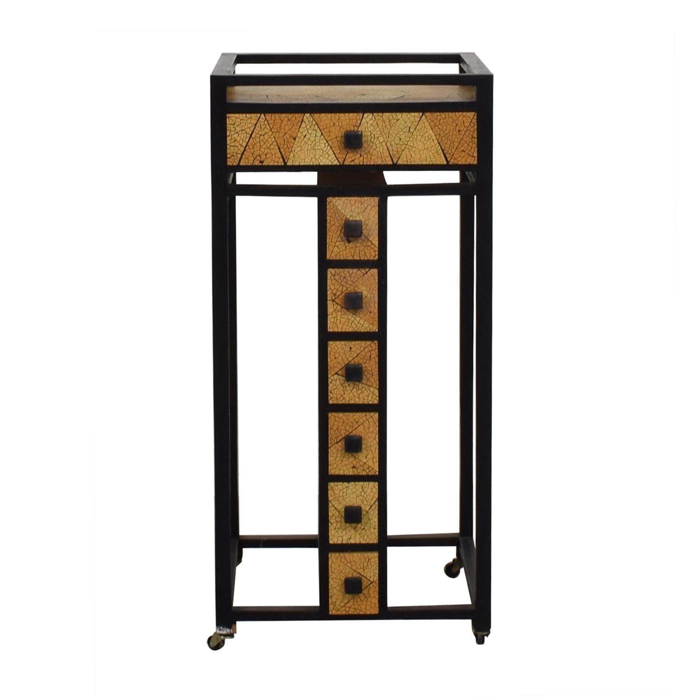 R & Y Agousti R & Y Agousti Hancrafted Artisnal Cabinet on Castors nyc