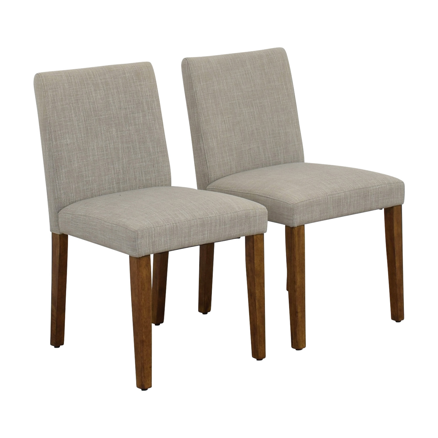 used west elm furniture. Shop West Elm Being Upholstered Dining Chairs Used Furniture
