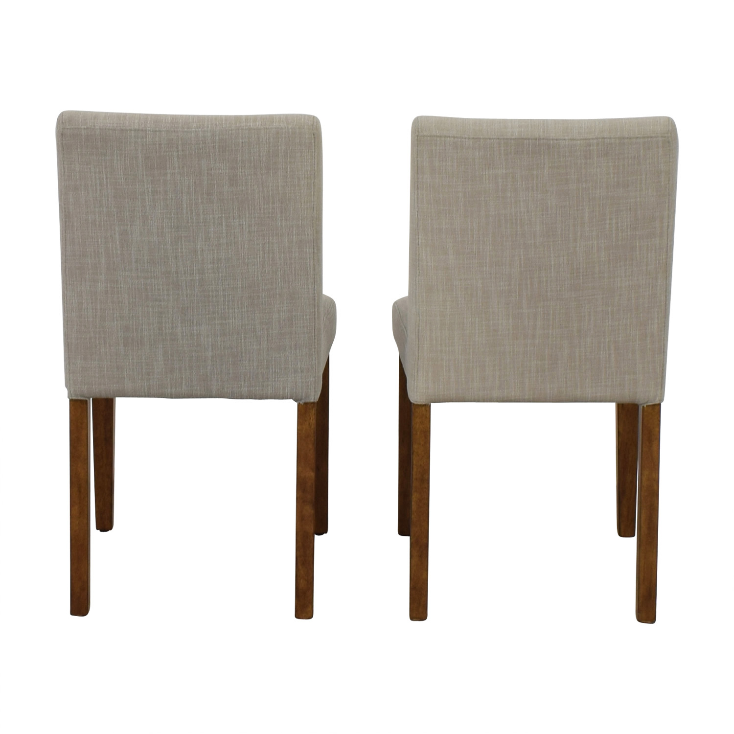 West Elm Being Upholstered Dining Chairs sale