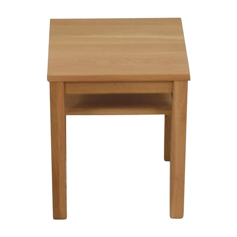 Muji Muji Natural Wood End Table second hand