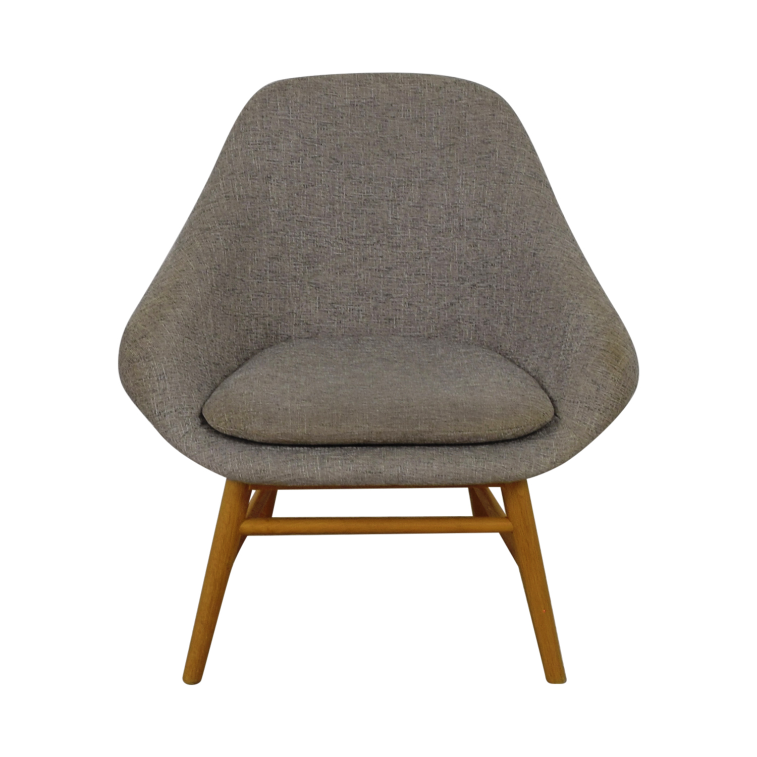 68 Off West Elm West Elm Grey Accent Chair Chairs
