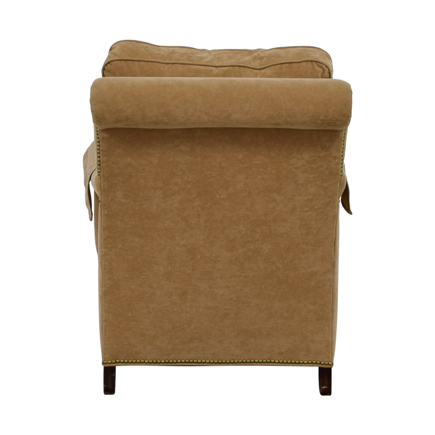 buy Beige Overstuffed Accent Chair