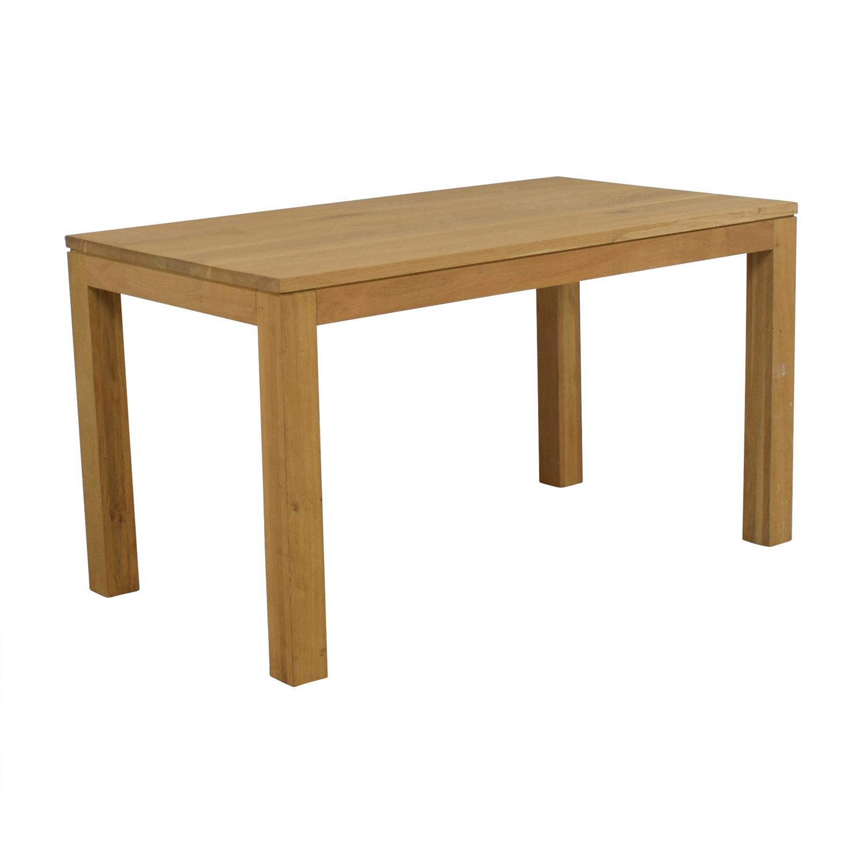 ABC Carpet & Home ABC Carpet & Home White Oak Dining Table Dinner Tables