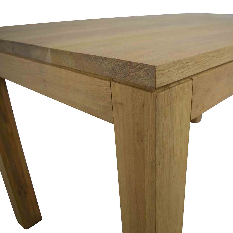 ABC Carpet & Home ABC Carpet & Home White Oak Dining Table
