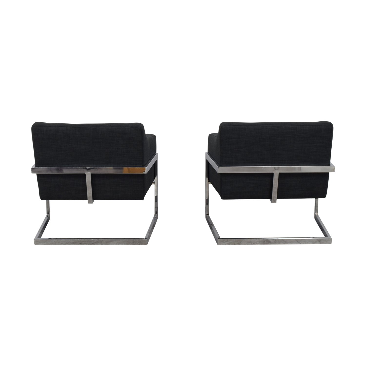shop Coaster Zachary  Charcoal Accent Armchairs Coaster