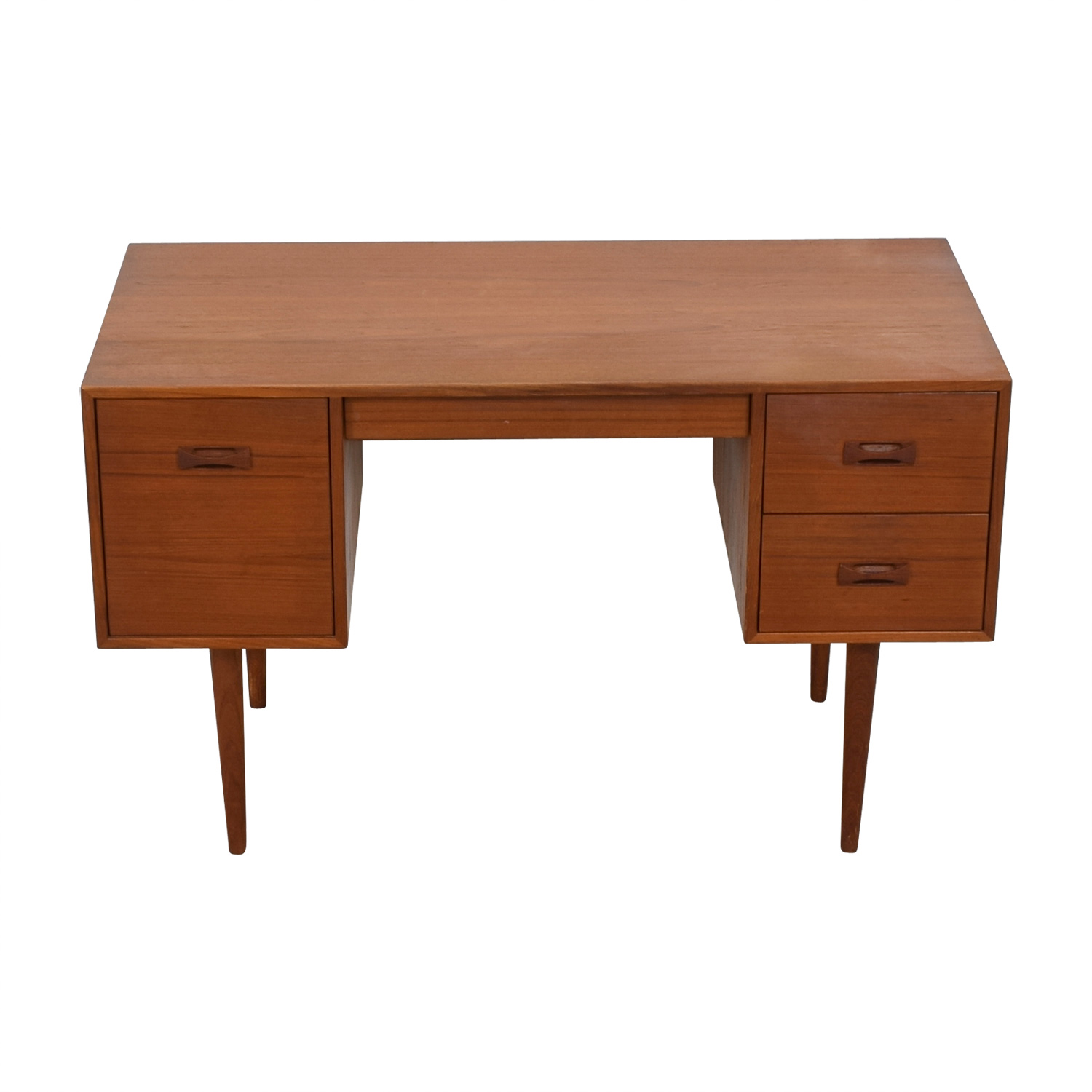 Mid-Century Danish Teak Desk / Home Office Desks