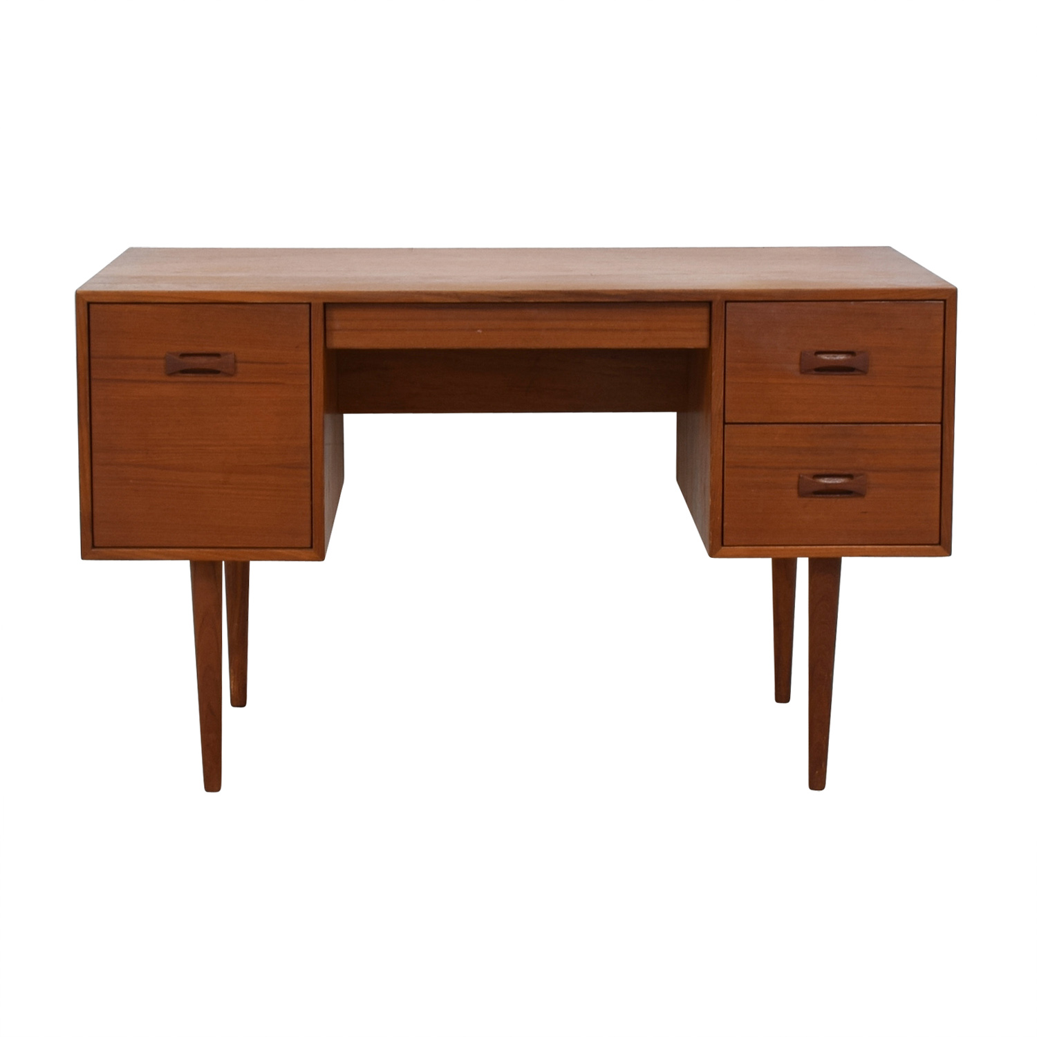shop Mid-Century Danish Teak Desk  Tables