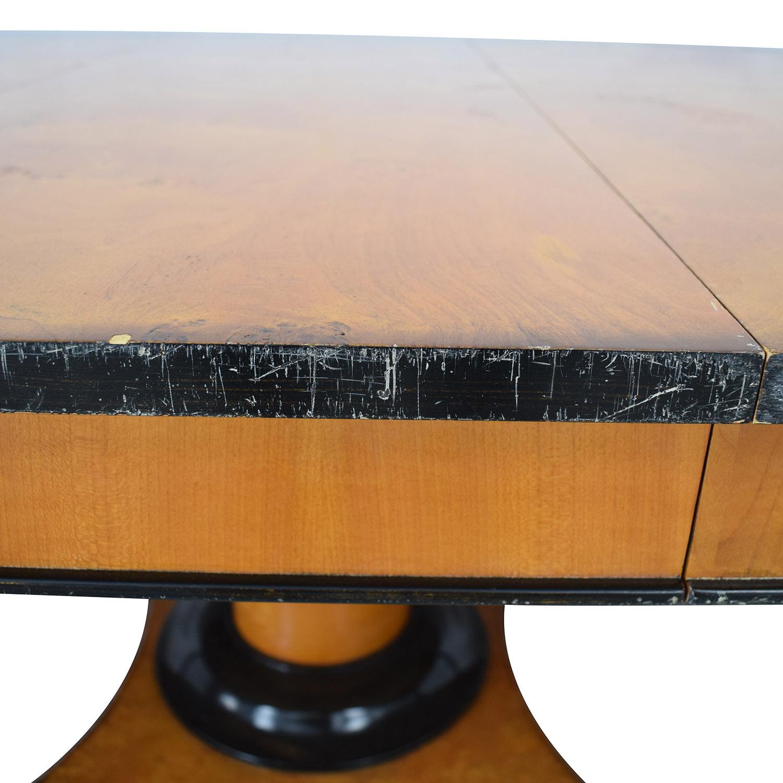Bloomingdale's Bloomingdale's Beidermeider Round Cherry Wood  Dining Table Tables
