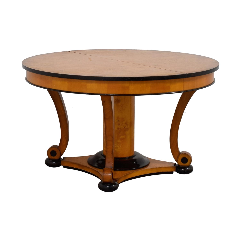 Bloomingdale's Bloomingdale's Beidermeider Round Cherry Wood  Dining Table used