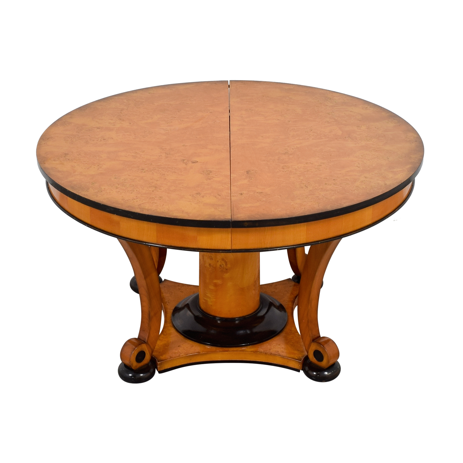 Bloomingdale's Bloomingdale's Beidermeider Round Cherry Wood  Dining Table Tables