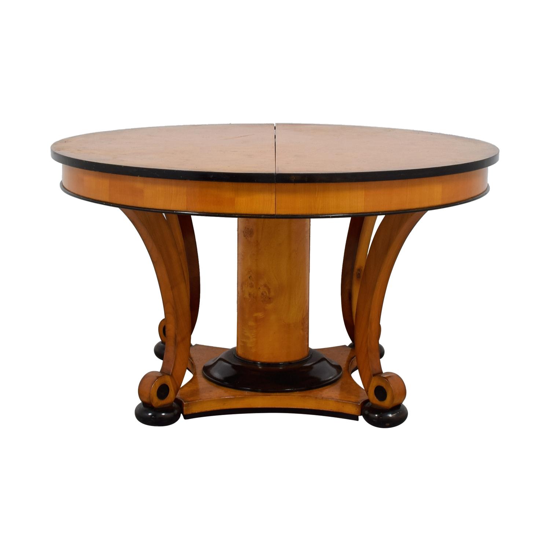buy Bloomingdale's Bloomingdale's Beidermeider Round Cherry Wood  Dining Table online