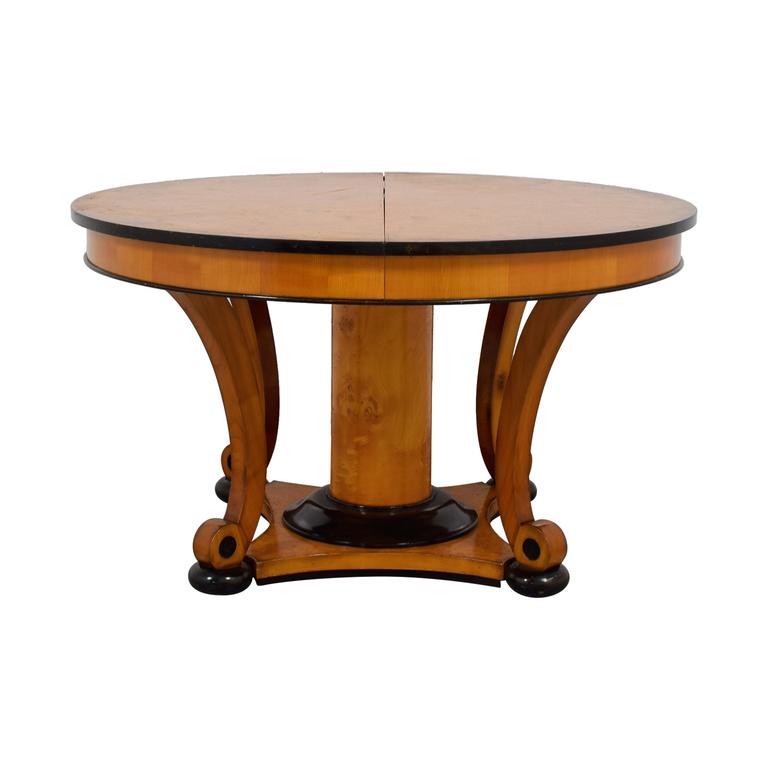 Bloomingdale's Bloomingdale's Beidermeider Round Cherry Wood  Dining Table discount
