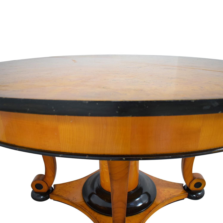 shop Bloomingdale's Bloomingdale's Beidermeider Round Cherry Wood  Dining Table online