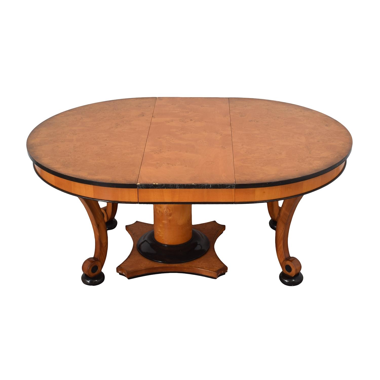 ... Bloomingdaleu0027s Beidermeider Round Cherry Wood Dining Table / Tables ...