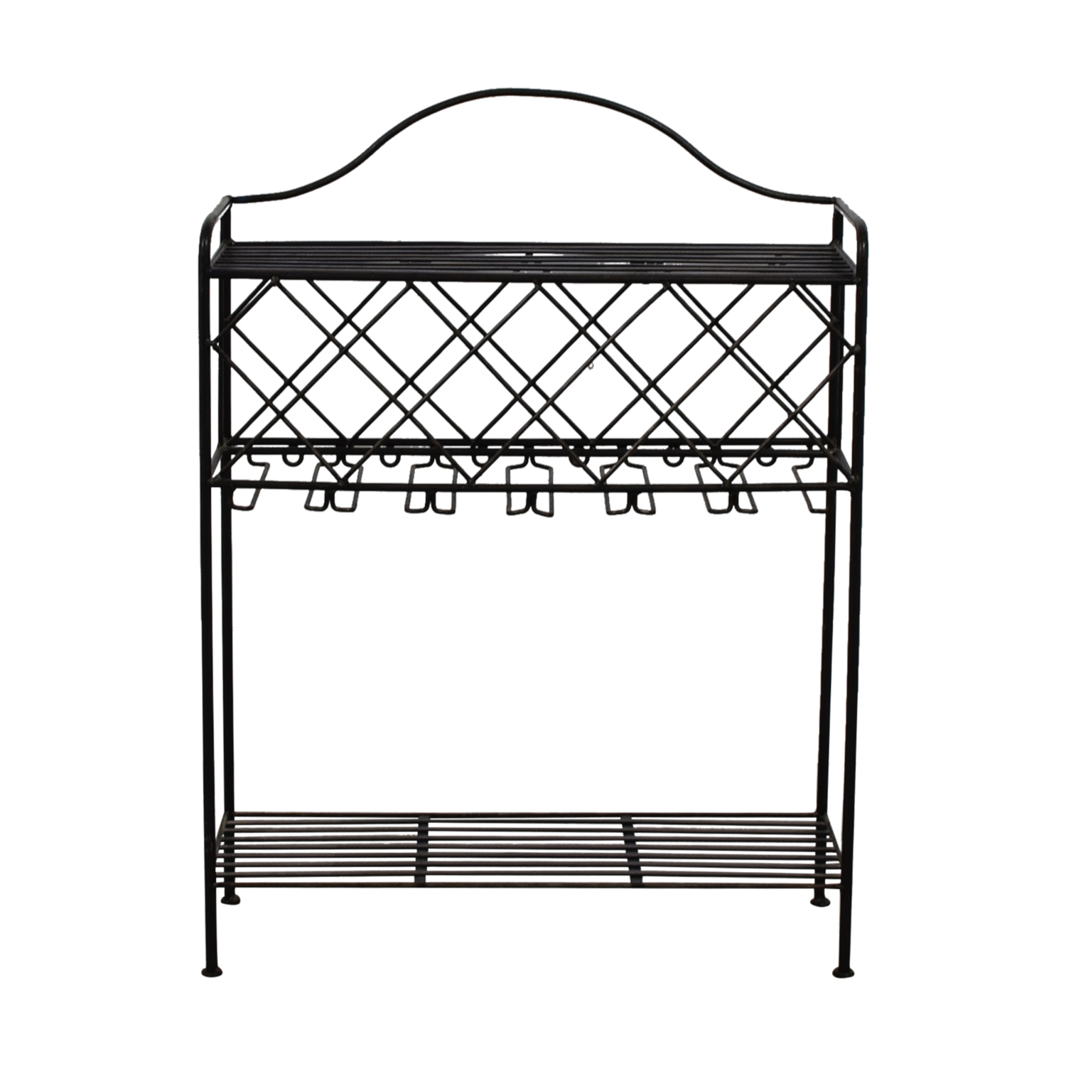 Metal Wine Rack used