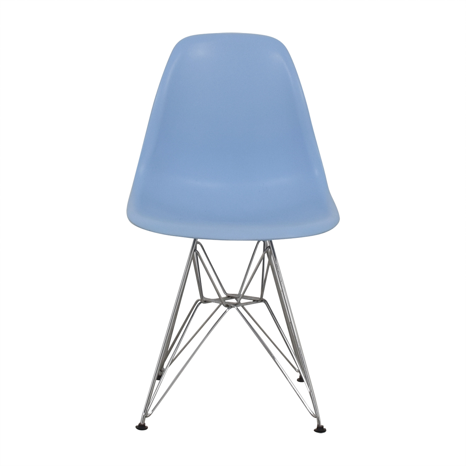 Light Blue Eames-Style Chair on sale