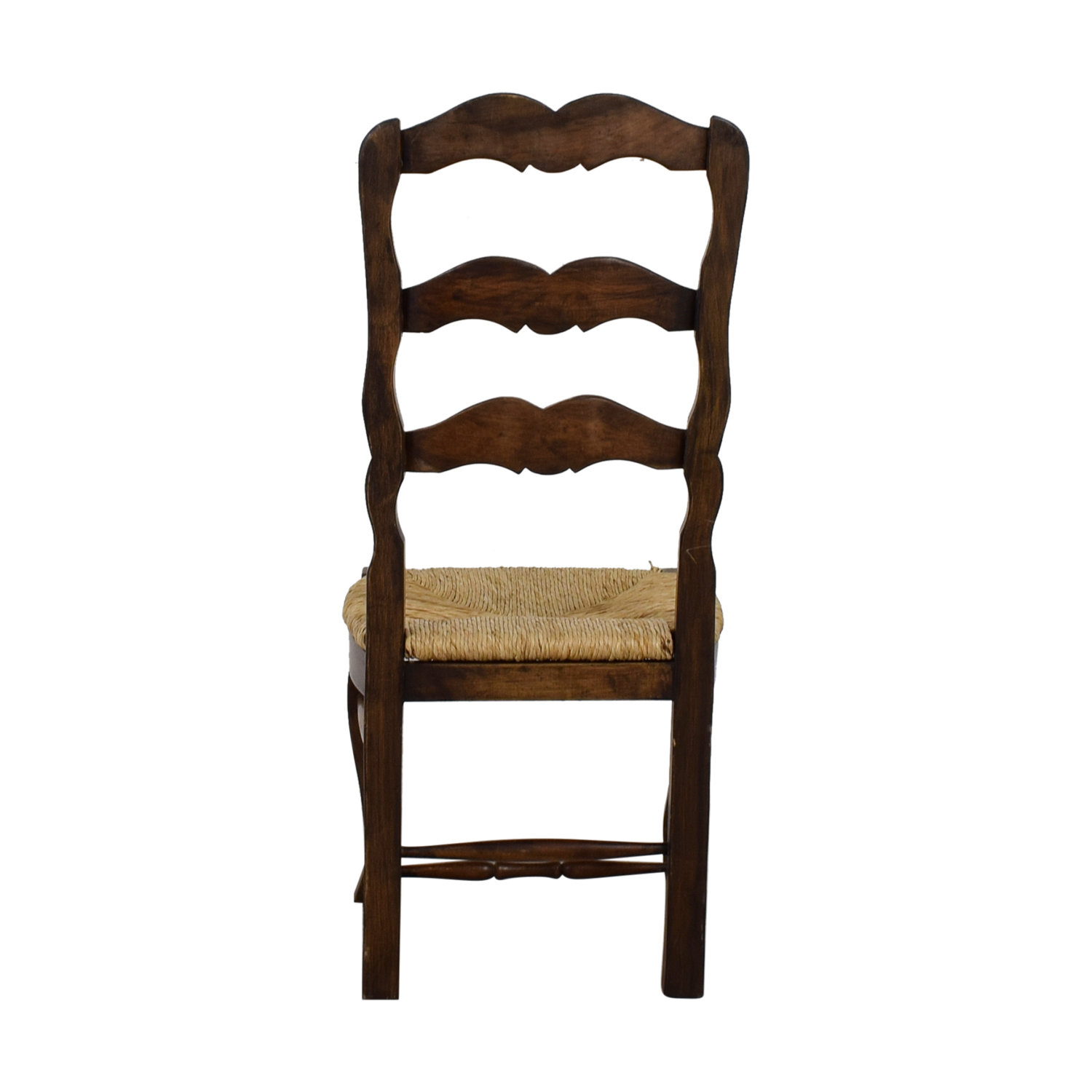 buy Vintage Ladder Back Straw Weaved Chair  Chairs
