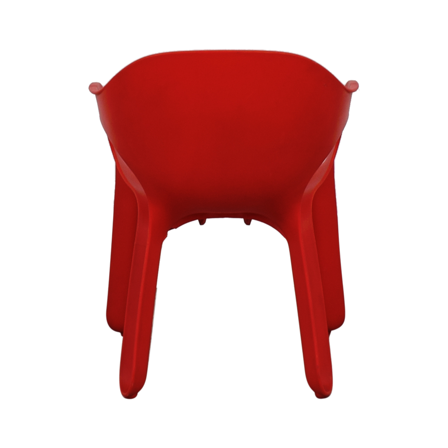 Magic Magic Red Molded Easy Chair by Jerszy Seymour Accent Chairs