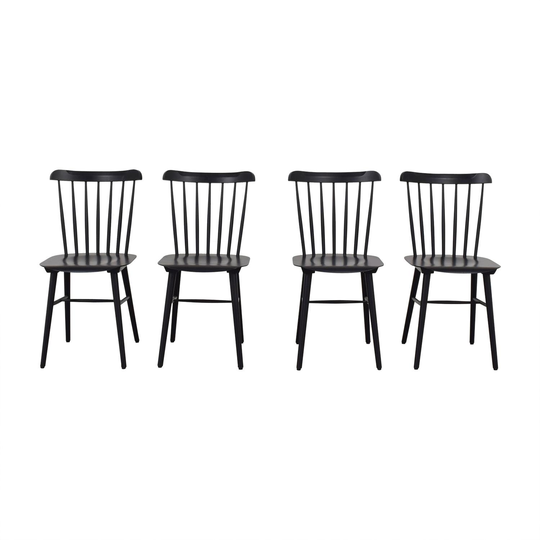 buy Design Within Reach Design Within Reach Black Salt Chairs online