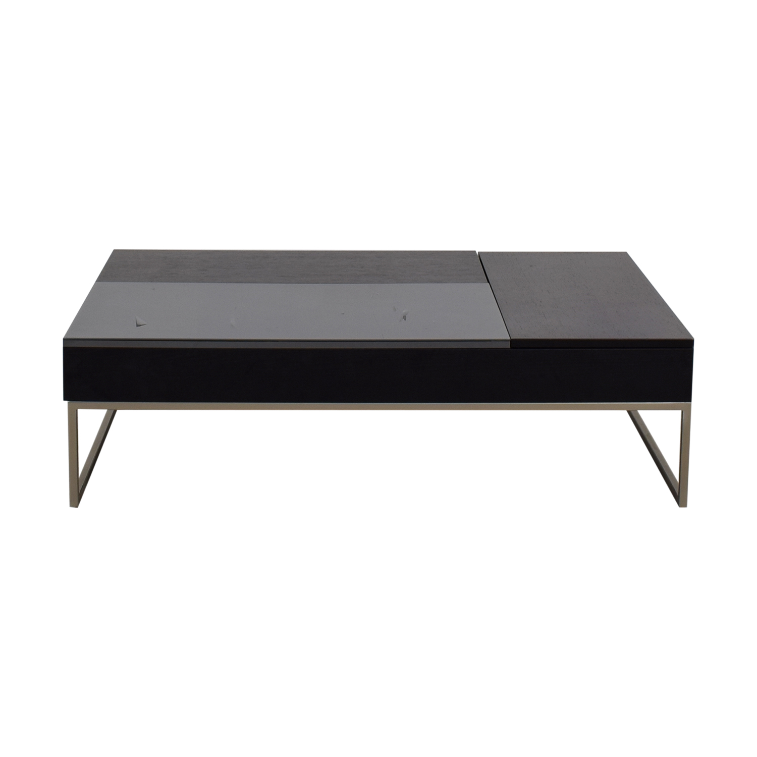 BoConcept Chiva Black Coffee Table with Storage / Sofas