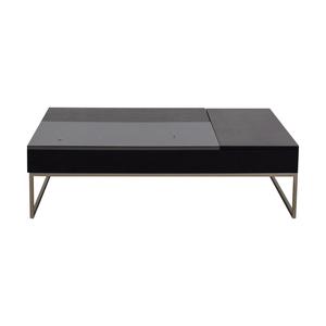 BoConcept BoConcept Chiva Black Coffee Table with Storage dimensions