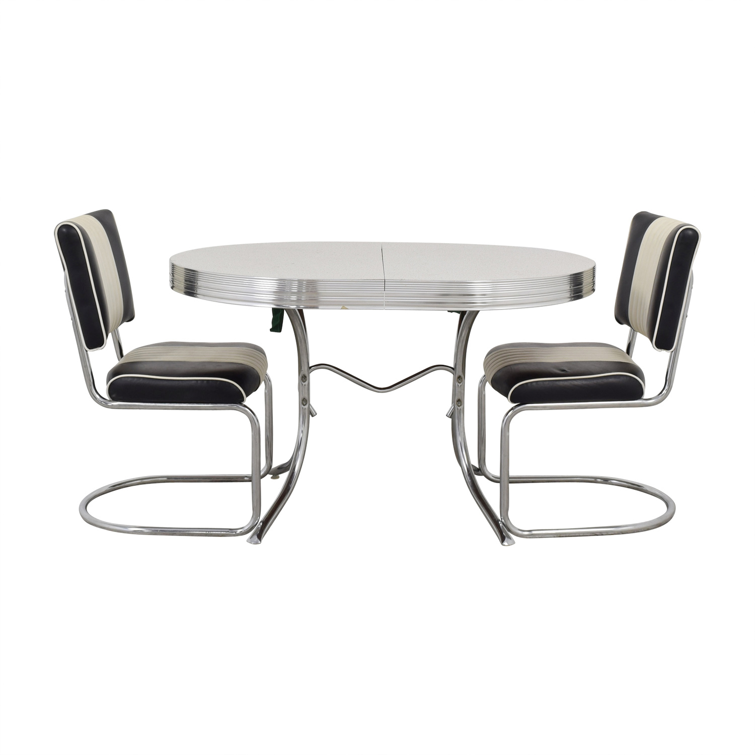 buy Vintage Chrome Kitchen Dining Set  Sofas