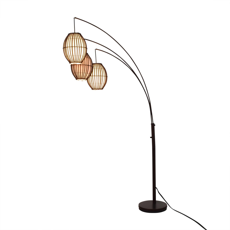 shop Adesso Lantern Floor Lamp Adesso Decor