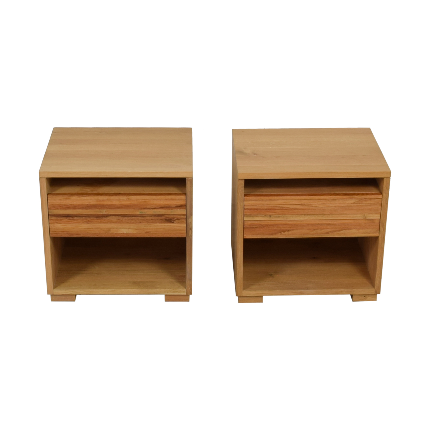 Crate & Barrel Sierra Single Drawer Nightstands / Sofas