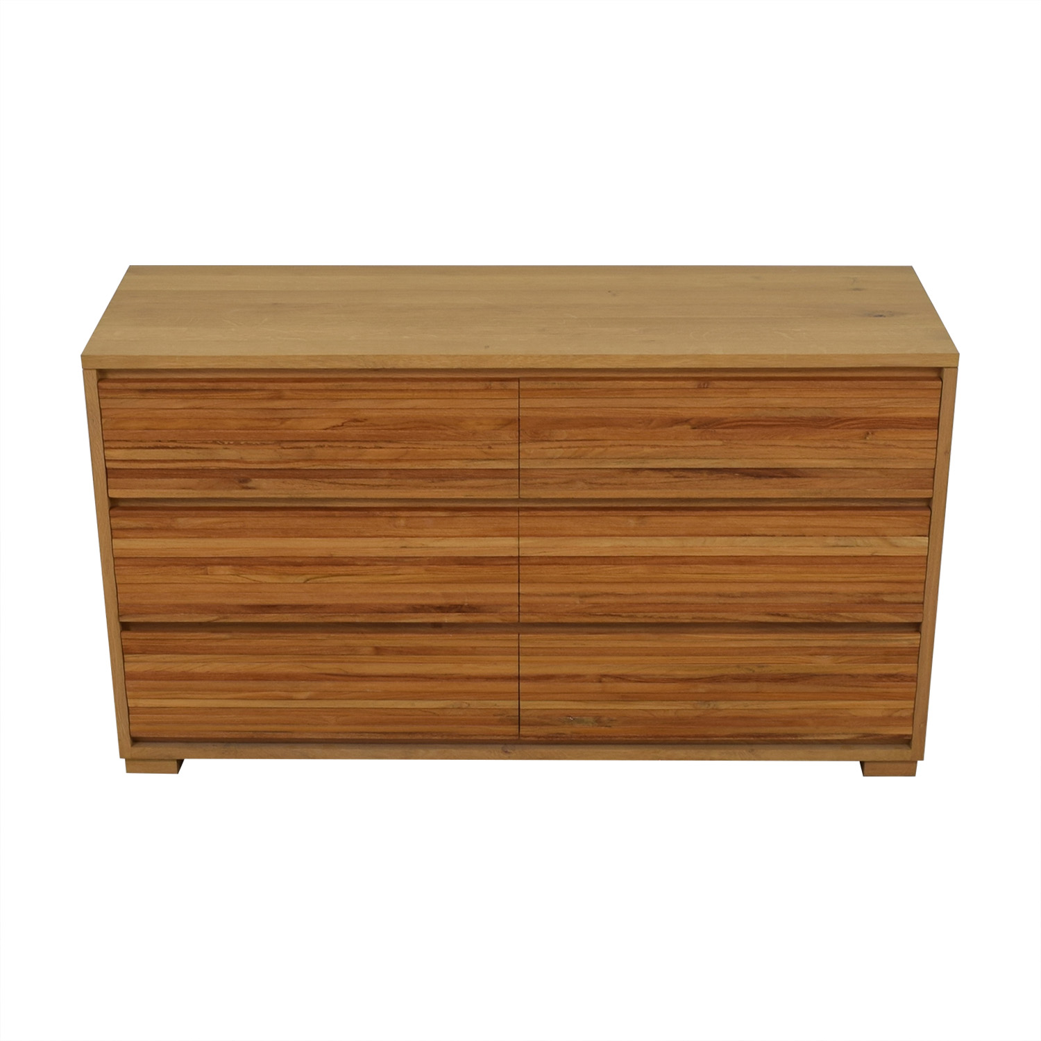 shop Crate & Barrel Sierra Six-Drawer Dresser Crate & Barrel