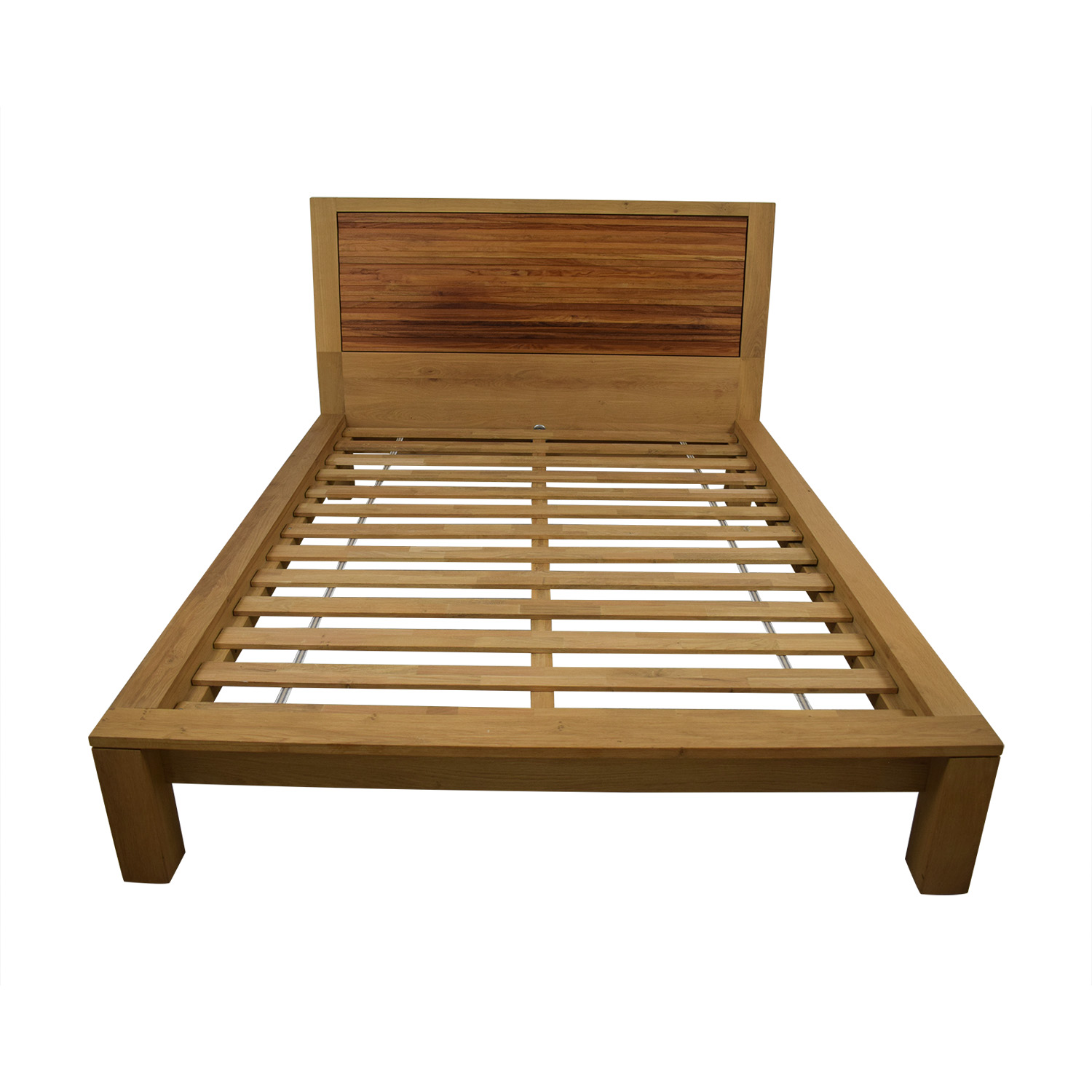 Crate Barrel Sierra Queen Platform Bed Frame Dimensions