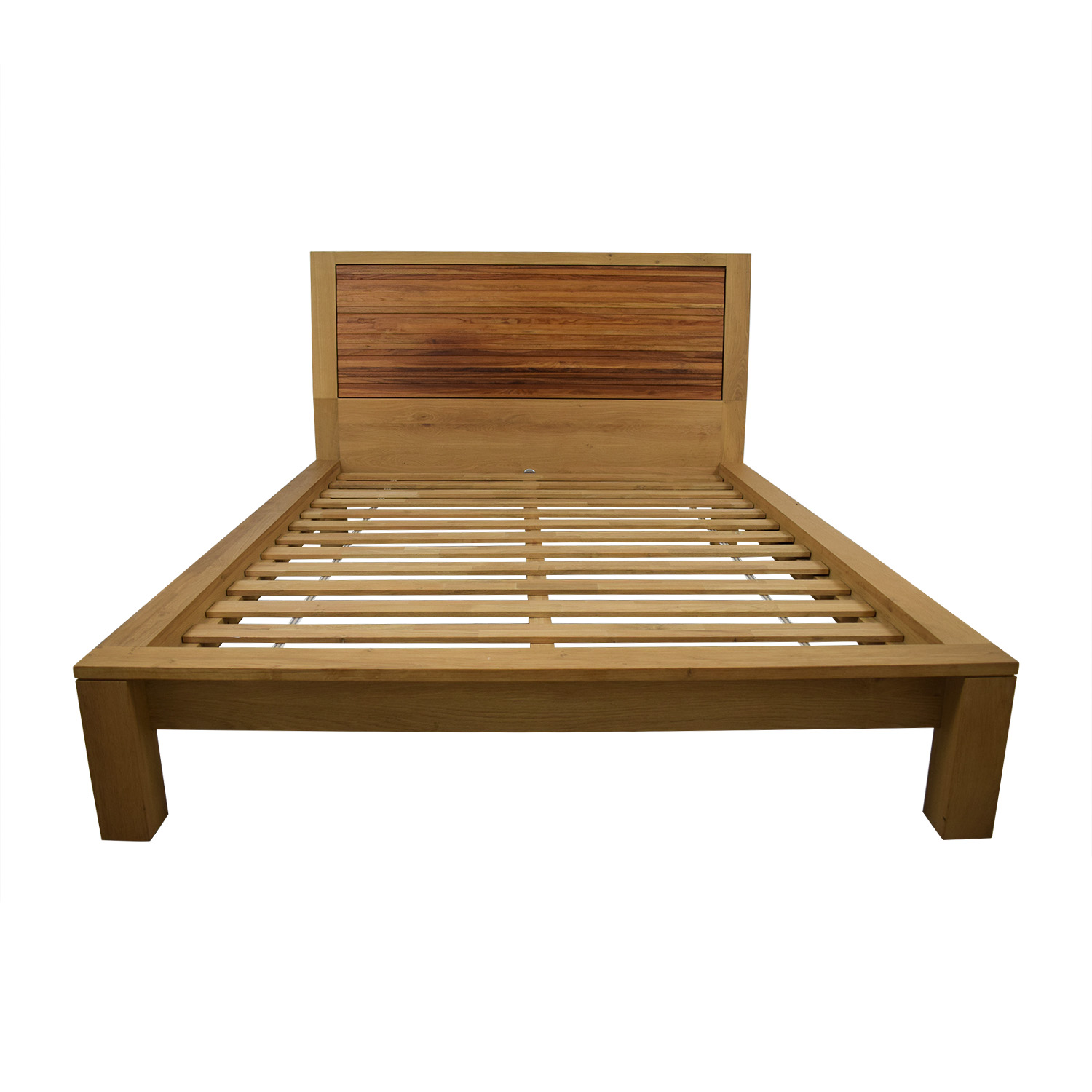 Crate & Barrel Crate & Barrel Sierra Queen Platform Bed Frame dimensions