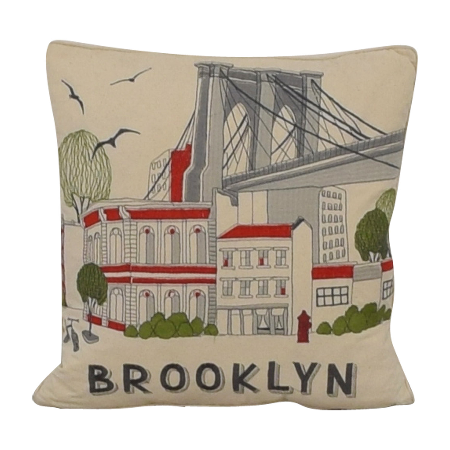 EnVogue EnVogue Brooklyn Duck Feather Pillow nyc