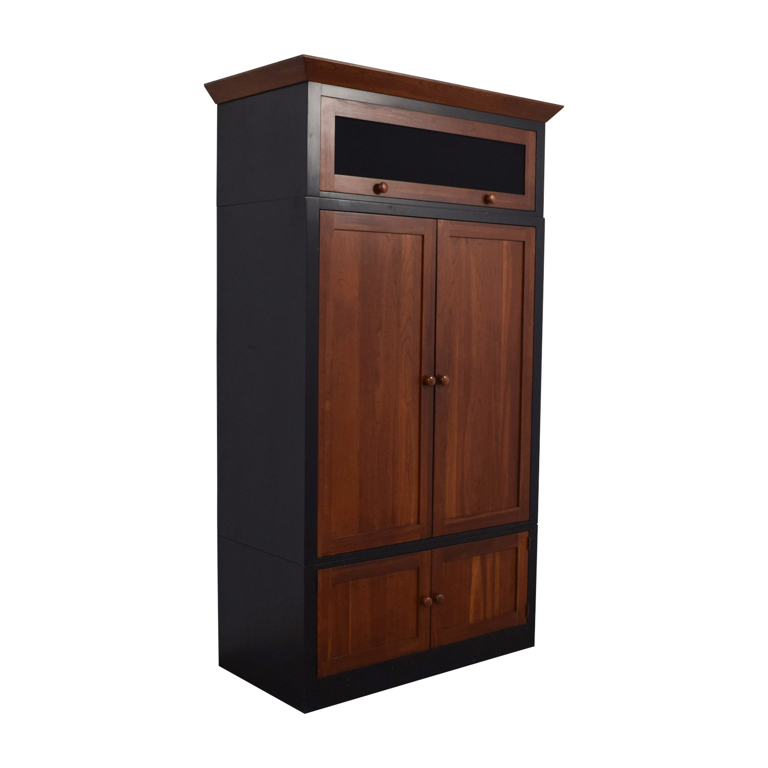 buy Ethan Allen Wood Media Cabinet Ethan Allen Wardrobes & Armoires