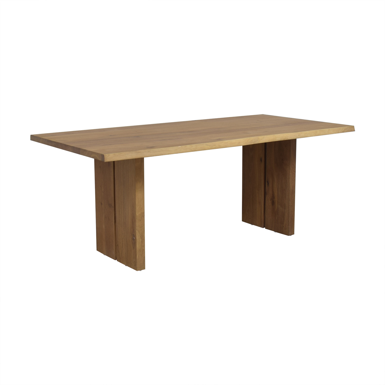 59 Off Crate Barrel Dakota Wood Dining Table Tables