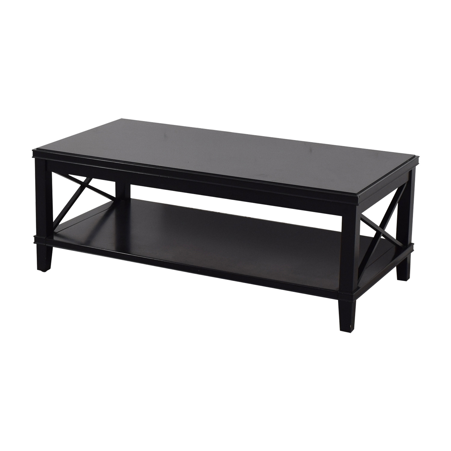 OFF Pottery Barn Pottery Barn Cassie Wood Coffee Table Tables - Pottery barn cassie coffee table