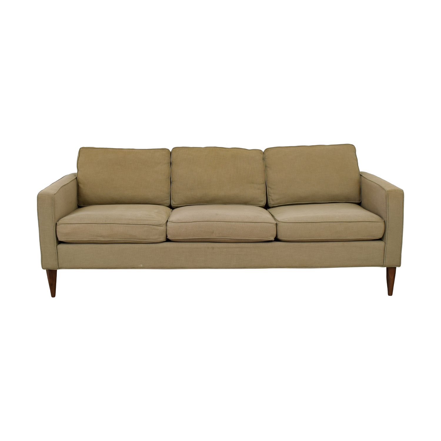 buy Room & Board Beige Three-Cushion Sofa Room & Board