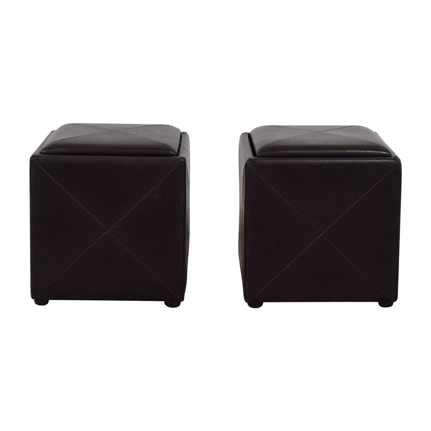 Reversible Storage Ottomans discount