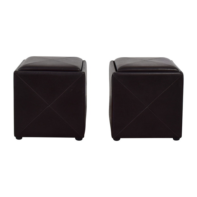 Reversible Storage Ottomans nj