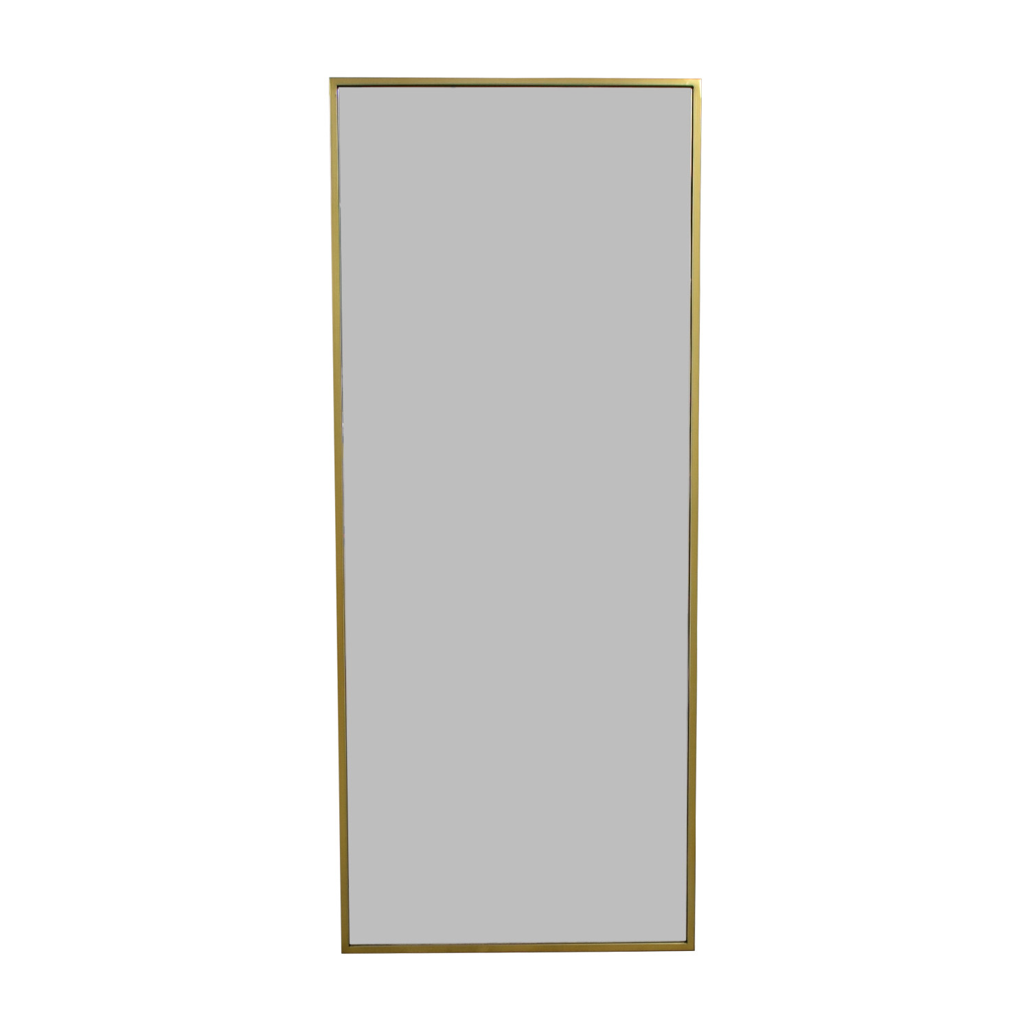 buy West Elm Metal Framed Floor Mirror West Elm Storage