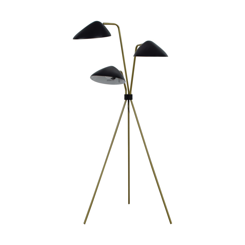 shop Tripod Three-Headed Floor Lamp