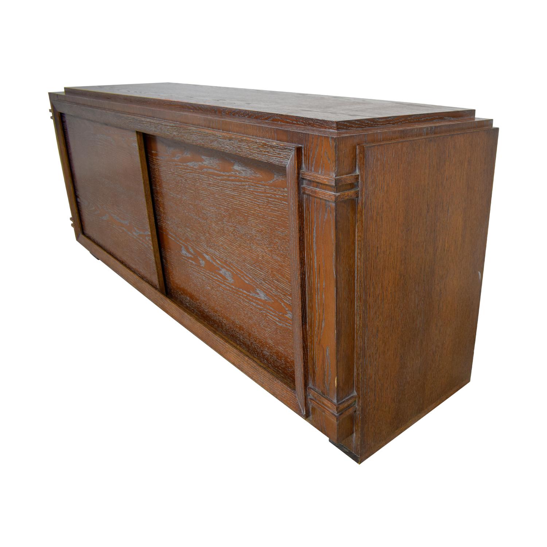 Custom Wood Media Storage Unit / Storage