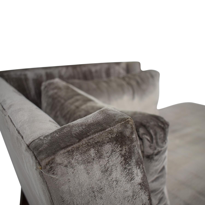 shop Custom Grey Chaise Lounger Custom